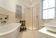 Interior design ideas for styling with accessories in bathroom home staging