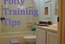 Potty Training / It is a journey AND a destination!  #toddler #pottytraining