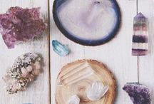 c r y s t a l s / the beautiful powers and energies that crystals bring.