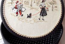 Cros stitch - křížková výšivka