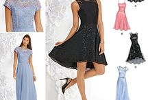 Bridesmaid dresses for Jani's wedding ( possible choices in navy blue)