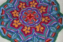 crochet overlay&mandala