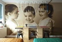 Displaying Kids Art / Great Ideas...