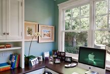 Office/sewing room / by Melissa Carver