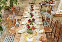 Decoration des tables