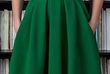 faldas costura