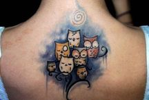 tattoos / by Jennifer O'neill Wilson