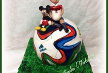 Brasuca ball cake WM Ball Torte