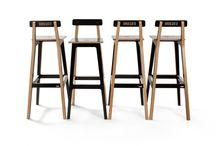 """HOCKER NABO GATO / stool designed by tabanda for a sushi bar """"NABO GATO"""""""