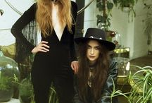 Garden Of My Mind Lookbook SS17 / Velvet Cave Lookbook SS17. Photos by Alice Barnes. Models Emily Wood & Gemma Edwards.