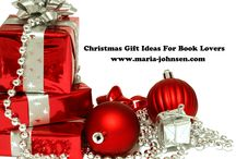 Christmas Gift Ideas for Book lovers