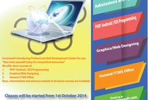 Incisivesoft Training Center / Incisivesoft is introducing Professional development Center for on hands training in PHP/ Android / IOS Programing, Web / Graphics Designing, IT / MS Office  Admissions are open! Classes will be started from 1st October 2014