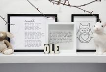 Decoración / Ideas para decorar las paredes, colgar cuadros, etc.