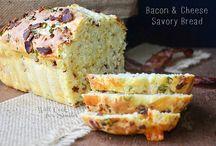 Cheese bacon bread