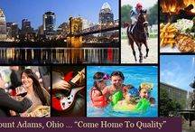 Mt. Adams OH Lifestyle / #MountAdams is a beautiful community that over-looks a large portion of #Cincinnati as well as having views of the #OhioRiver and even #Kentucky