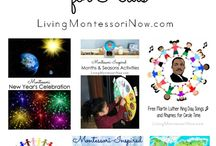 Montessori infants and toddlers