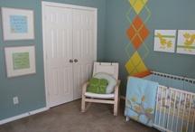Kids: Boy Nursery/Bedroom / by Rebecca Ruby