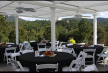 Commercial Patio Covers / Restaurant Owners can cover an outdoor eating area with one of  our patio cover options.  The American Louvered Roof Cover opens to allow dinners to eat under the stars.  When rain or blazing sun shows up, just close to protect them.