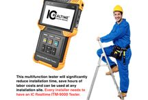 TEST EQUIPMENT / IC Realtime Test equipment simplifies the field installation by allowing an installer to easily set up, connect and preview analog, AVS and IP cameras.