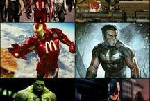 Marvel / by Justin Baker