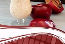 Batido de canela y manzana
