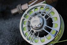 Fly fishing reels. / Flyfishing reels of all kinds. Light weight aluminum reels to traditional Flyfishing reels