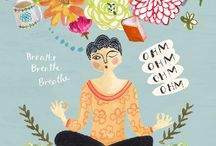 [yoga] illustrations /  ♥