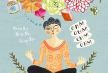 [yoga] illustrations /  ♥