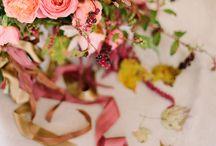 Floral & Color Palette Inspiration / Wedding Centerpiece Inspiration