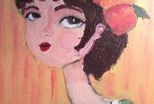 Dora' s paintings