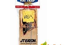 Control de Roedores / Equipos y Productos para el Control de Ratas y Ratones como Trampas de Pega, Estaciones Cebaderas, Trampas Jaulas, etc.
