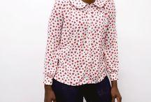 Sarah Shirt / Our latest sewing pattern, the Sarah Shirt! http://byhandlondon.com/products/sarah-shirt-pdf-sewing-pattern