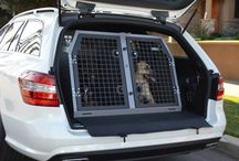 Mercedes Benz / A selection of TransK9 Dog Transit Boxes & Cages suitable for the Mercedes range of vehicles