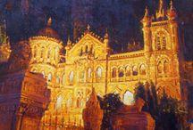 mukhtar kazi / paintings