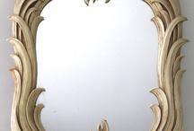 Oglinda lemn