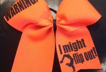 BOWS! / Cheerleading bows