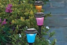 Garden Ideas / Beautiful examples of gardens outdoor garden art and gardening tips.