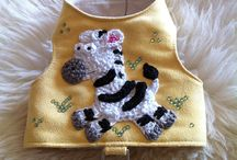 Small dog harness vest / Small dog harness by La Maison Vienna Couture Canine