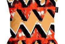 Tribal digital print in fashion and non fashion.