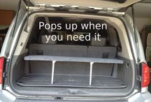 Organized Cargo Space / For the road trip, of course.