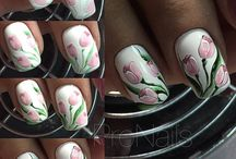 Nails flores