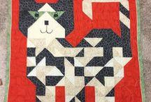 quilts cat blocks