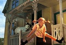 """PIPPICALZELUNGHE / ...""""un tempo avevo paura di rimanere a casa da sola, ma ora non più, perchè Pippi è con me""""."""