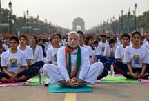 International Day of Yoga / Pictures from around the world on the first International Day of Yoga on 21st June, 2015