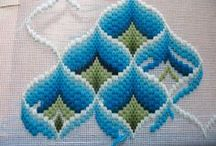 Bargello pattern