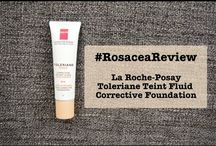 Rosacea: Articles, Reviews and Infographics / What is rosacea? Tips and tricks for living with rosacea.  http://talontedlex.co.uk/tag/rosacea/ / by Talonted Lex