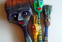 Artesanías con Pinceles