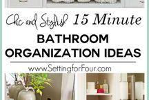 Organizing - Bathroom