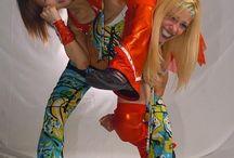 wrestle poses