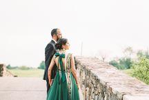 Bride and Groom / Fine Art Film Wedding Photography, Bride and Groom